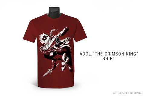 "Ys IX:  Adol, ""The Crimson King"" T-Shirt"