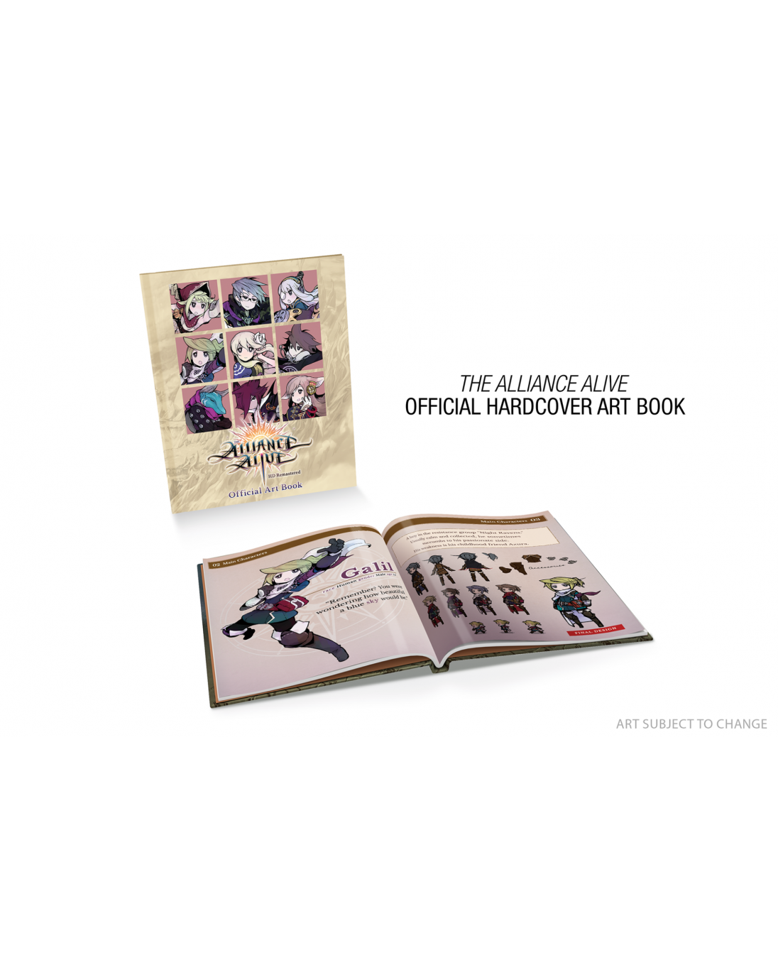 Calendrier Switch.The Alliance Alive Hd Remastered Limited Edition