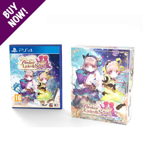 Atelier Lydie & Suelle - PS4 - Limited Edition