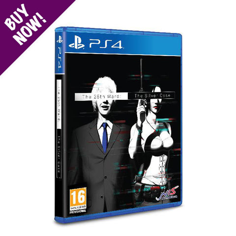 The 25th Ward: The Silver Case - Standard Edition - PS4