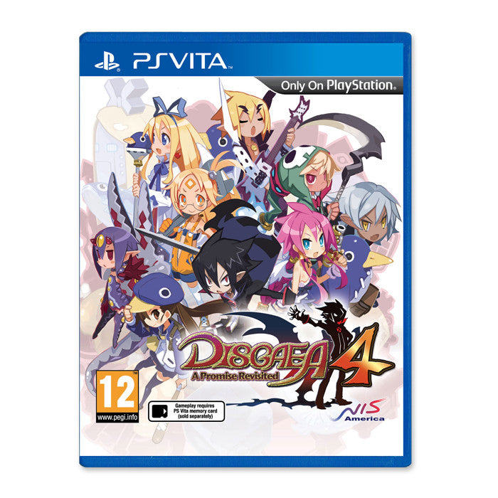 Disgaea 4: A Promise Revisited Limited Edition – NISA Europe