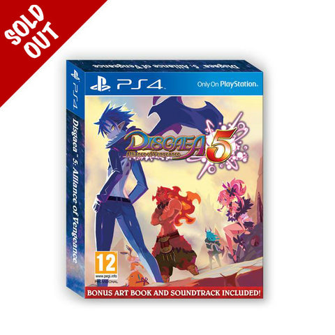 Disgaea 5: Alliance of Vengeance - Launch Edition