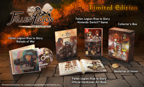FALLEN LEGION: RISE TO GLORY - Exemplary Edition - Limited Edition Set