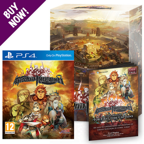 Grand Kingdom Collectors Box and Game