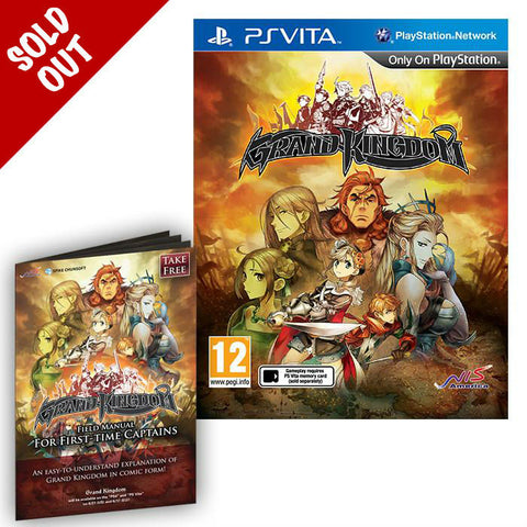 Grand Kingdom - PS Vita - Standard Edition