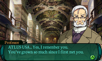 Etrian Odyssey 2 Untold - The Fafnir Knight Screenshot