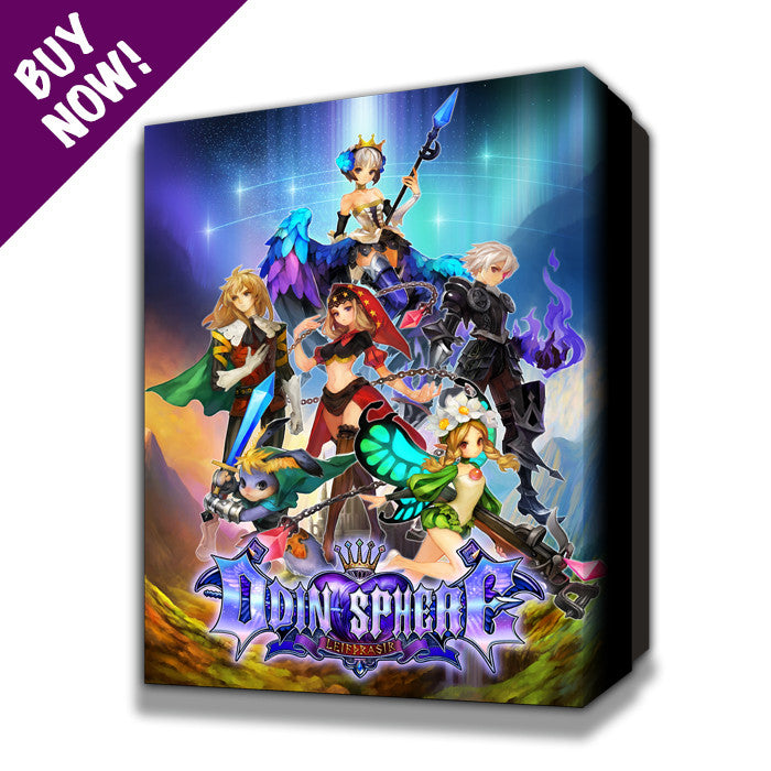 "Odin Sphere Leifthrasir ""Storybook Edition"" Premium Outer Box"