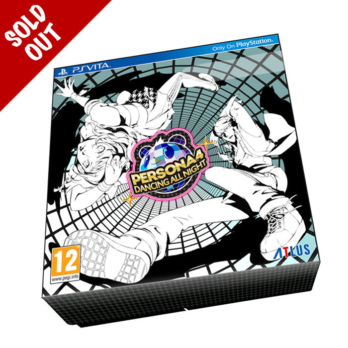Persona 4 Dancing All Night Collectible Box with Custom Disco Ball Art