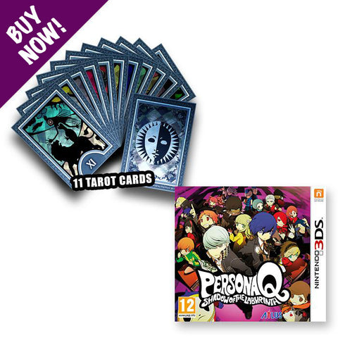 Persona Q: Shadow of the Labyrinth + Tarot Cards - Nintendo 3DS