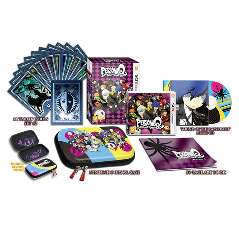 Persona Q: Shadow of the Labyrinth: The Wild Cards Premium Edition Set