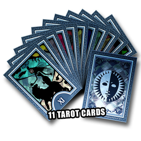 Persona Q: Shadow of the Labyrinth Tarot Cards