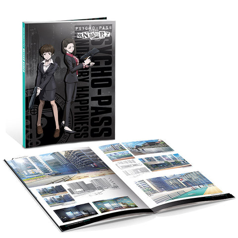 PSYCHO-PASS: Mandatory Happiness Art Book