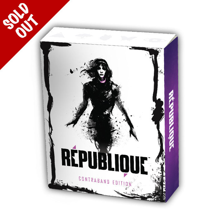 République - Contraband Edition Collector's box