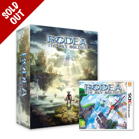 Rodea the Sky Soldier Collectors Box and Game