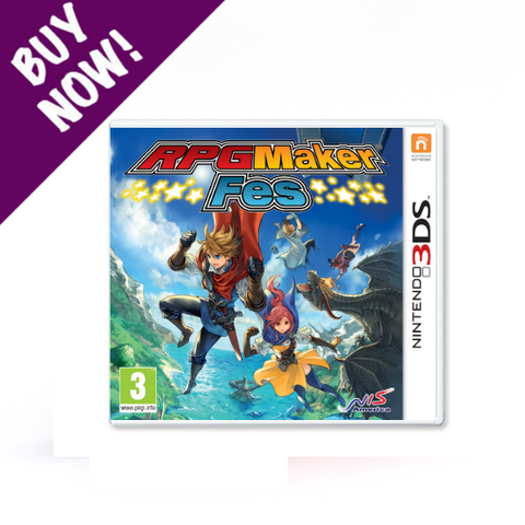 RPG Maker Fes - Standard Edition - Nintendo 3DS