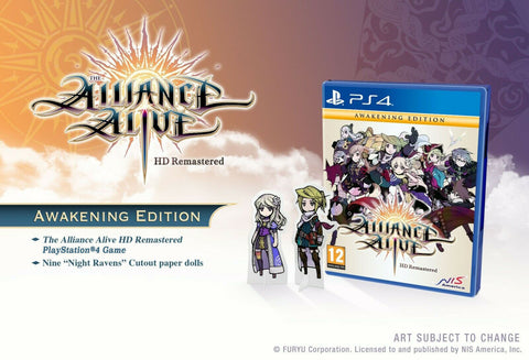 The Alliance Alive HD Remastered - Awakening Edition - PS4®