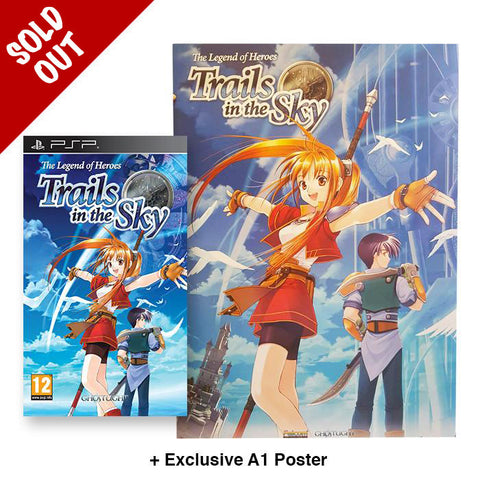 The Legend of Heroes: Trails in the Sky + Poster - PSP
