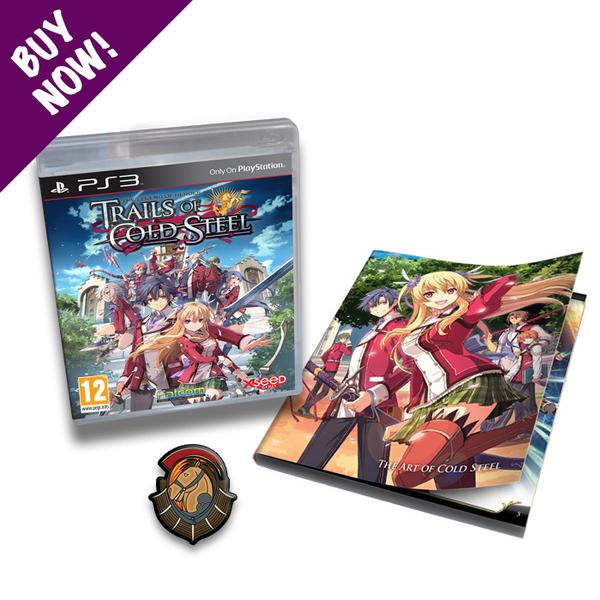 The Legend of Heroes: Trails of Cold Steel - PS3 - Launch Edition