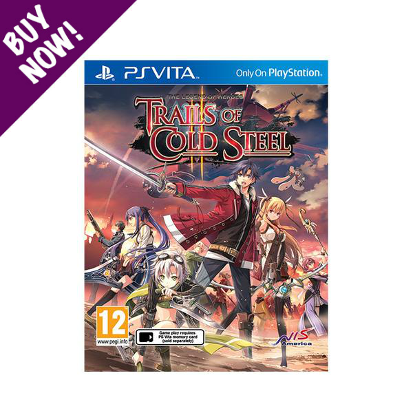The Legend of Heroes: Trails of Cold Steel II - PS VITA - Standard Edition