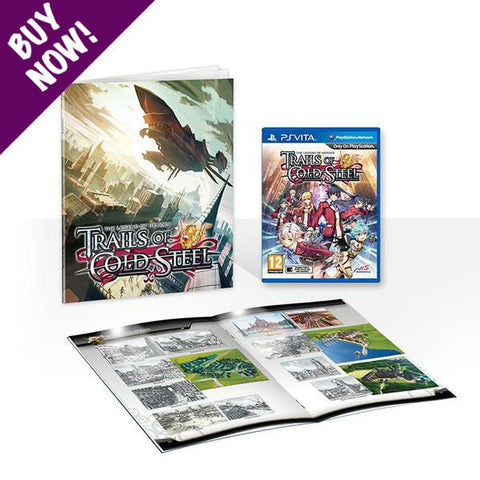 The Legend of Heroes: Trails of Cold Steel - PS VITA + Softcover Artbook - Standard Edition