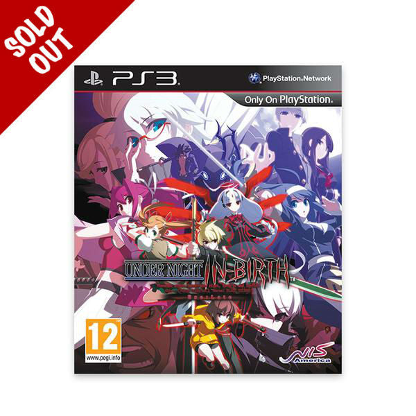 Under Night In-Birth Exe:Late - PS3