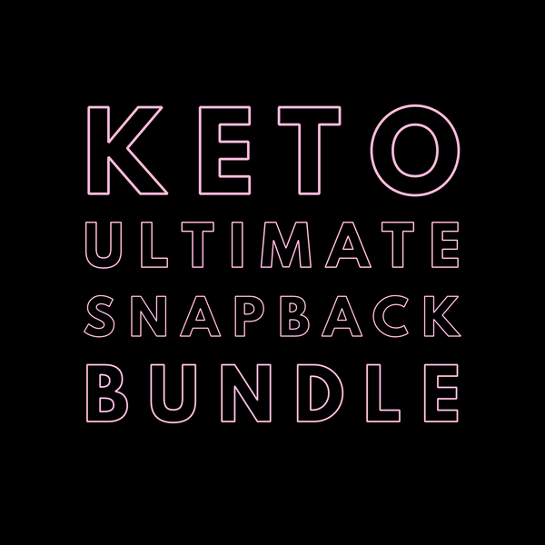 Keto Ultimate Snapback Bundle