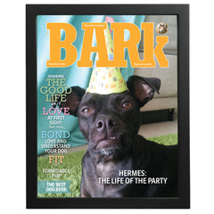 Create Your Own Framed The Bark Cover Print