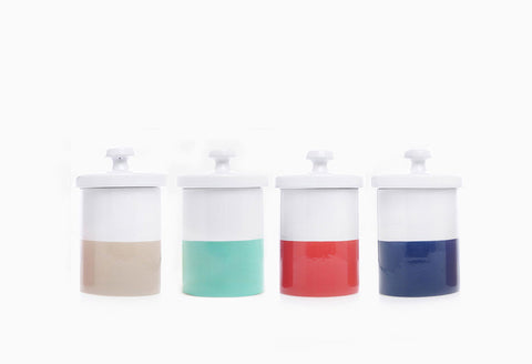 Dip of Color Dog Treat Jar