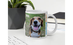 Customized Smiling Dog Mug
