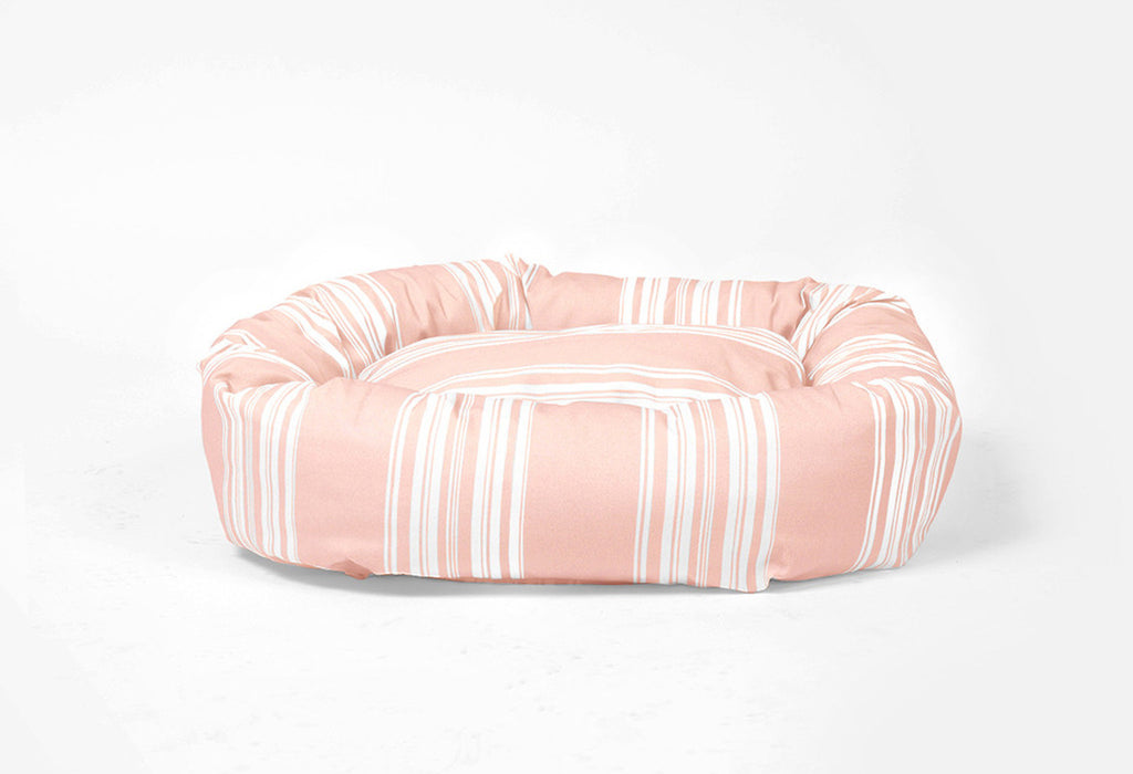 Snuggle Time Stripe Dog Beds