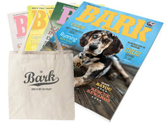 Bark Script Canvas Tote + Subscription