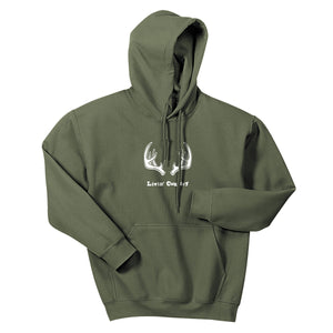 Adult Livin' Country Antler Hoodie - Livin' Country Apparel & Accessories  - 2