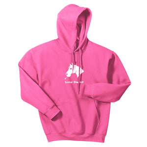 Adult Livin' Country Horse Hoodie - Livin' Country Apparel & Accessories  - 1