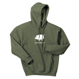 Adult Livin' Country Pig Hoodie - Livin' Country Apparel & Accessories  - 2
