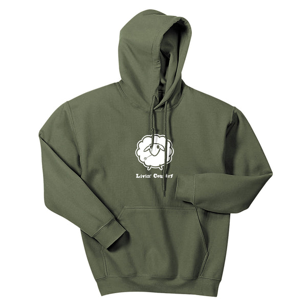 Adult Livin' Country Sheep Hoodie - Livin' Country Apparel & Accessories  - 3