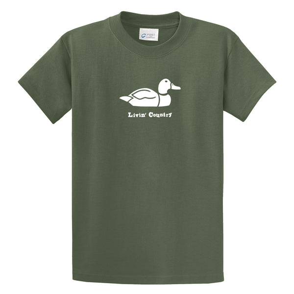 Adult Livin' Country Duck T-shirt - Livin' Country Apparel & Accessories  - 1