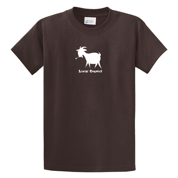 Adult Livin' Country Goat T-shirt - Livin' Country Apparel & Accessories  - 3