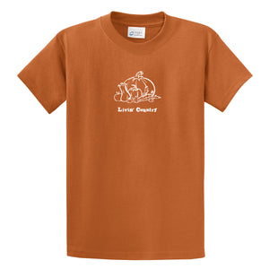 Adult Livin' Country Harvest T-shirt - Livin' Country Apparel & Accessories  - 1