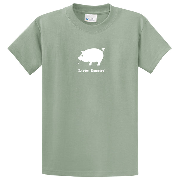 Adult Livin' Country Pig T-shirt - Livin' Country Apparel & Accessories  - 5