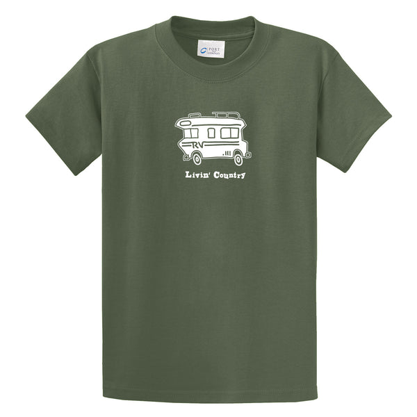 Adult Livin' Country RV T-shirt - Livin' Country Apparel & Accessories  - 7