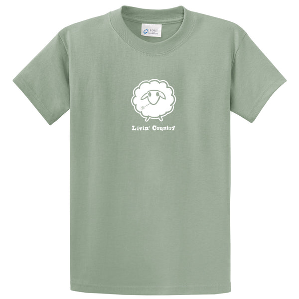 Adult Livin' Country Sheep T-shirt - Livin' Country Apparel & Accessories  - 5