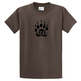 Adult Livin' Country Bear Track T-shirt - Livin' Country Apparel & Accessories  - 3
