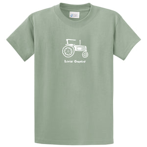 Adult Livin' Country Tractor T-shirt - Livin' Country Apparel & Accessories  - 5