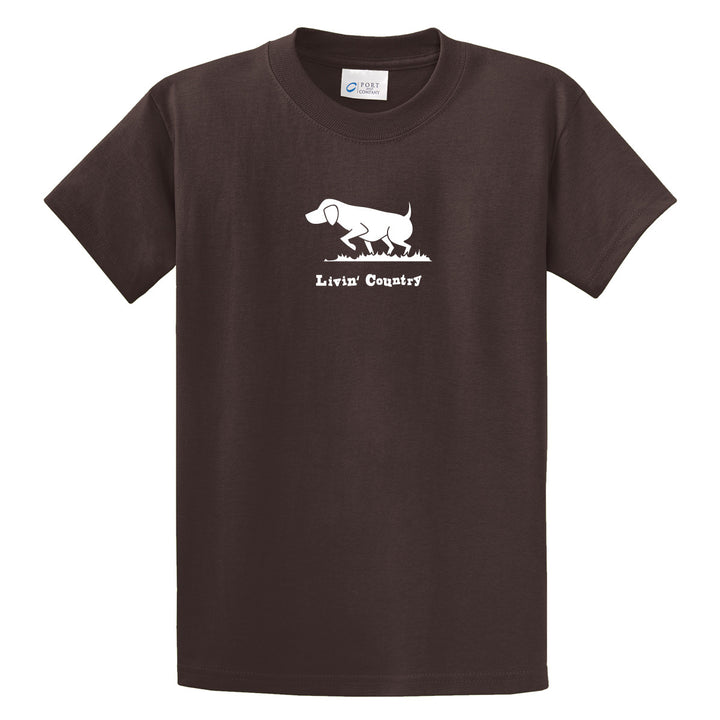 Adult Livin' Country Dog T-shirt - Livin' Country Apparel & Accessories  - 1