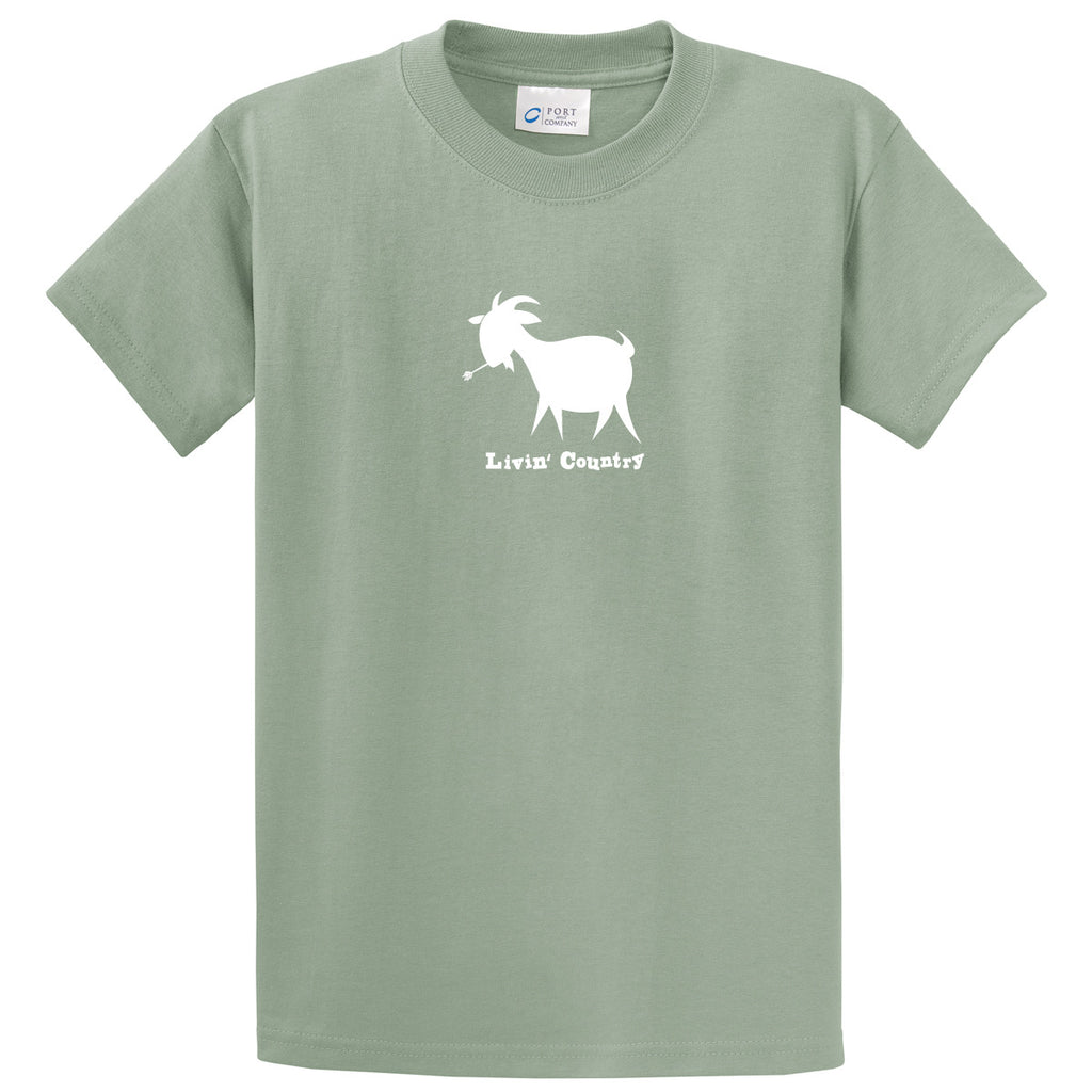 8b7bd9893 ... Adult Livin' Country Goat T-shirt - Livin' Country Apparel & Accessories  ...