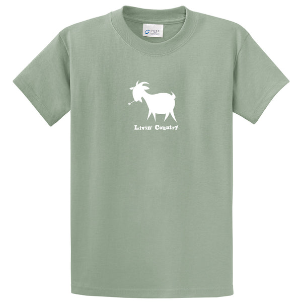 Adult Livin' Country Goat T-shirt - Livin' Country Apparel & Accessories  - 5