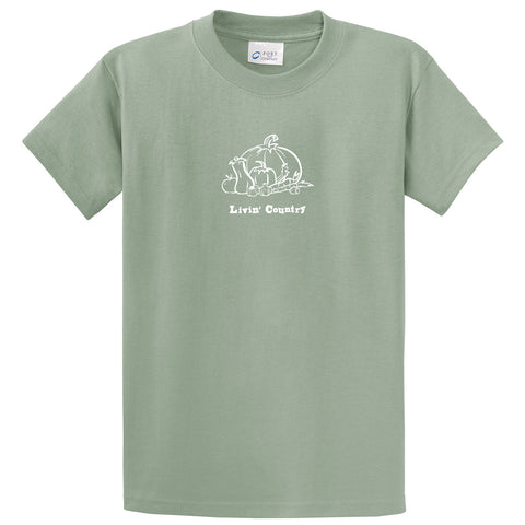 Adult Livin' Country Harvest T-shirt - Livin' Country Apparel & Accessories  - 3