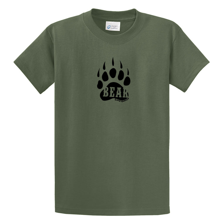 Adult Livin' Country Bear Track T-shirt