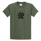 Adult Livin' Country Bear Track T-shirt - Livin' Country Apparel & Accessories  - 1