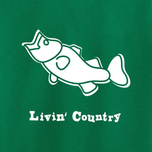 Toddler Livin' Country Bass T-shirt